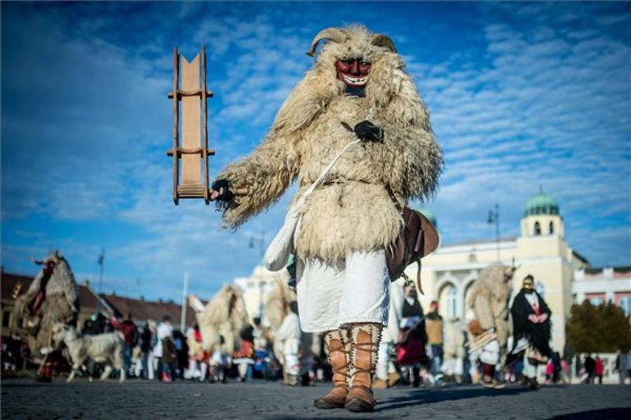 UNESCO - Listed Buso Festival Begins In Mohács