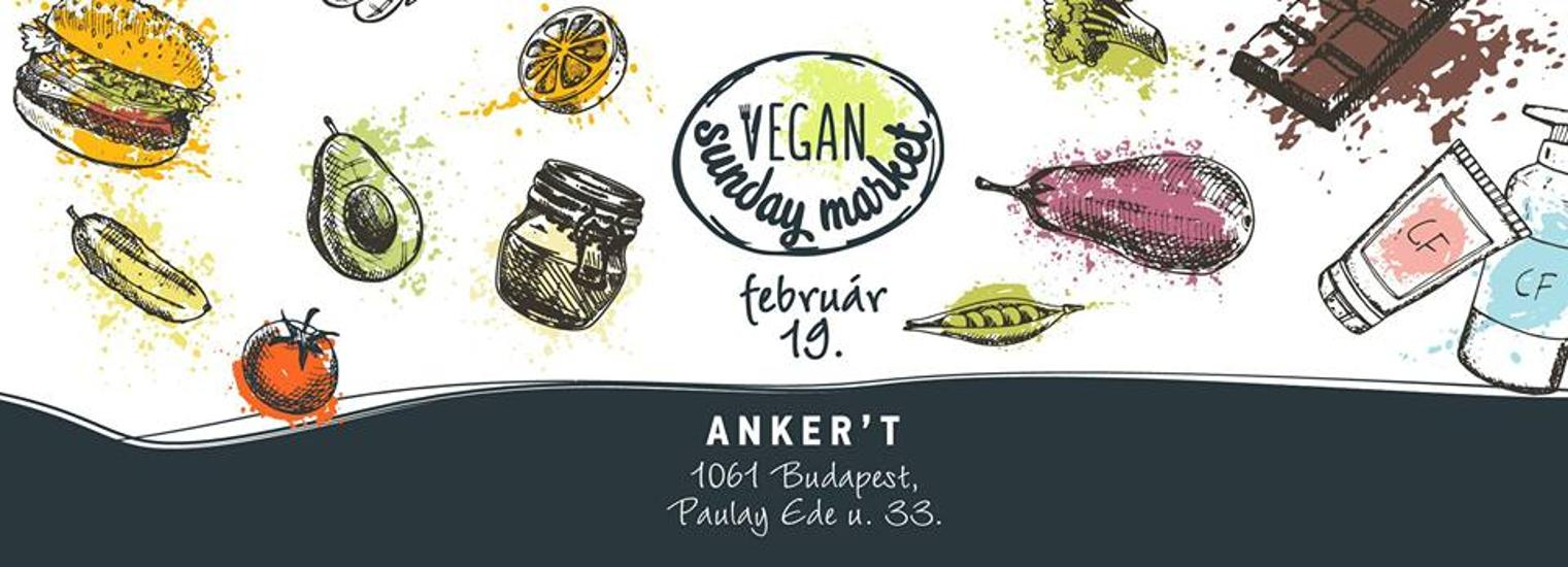 Vegan Sunday Market, Anker't, 19 February