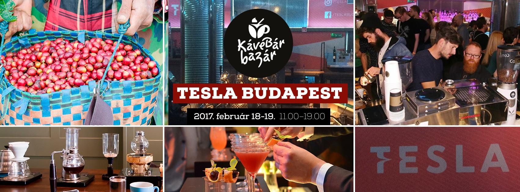"""CoffeeBar Bazaar"" In Budapest's Party-District, 18 - 19 February"