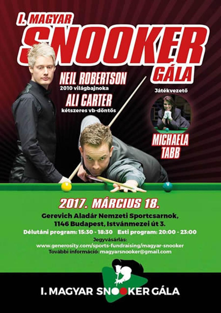 Snooker Stars To Play Exhibition In Budapest
