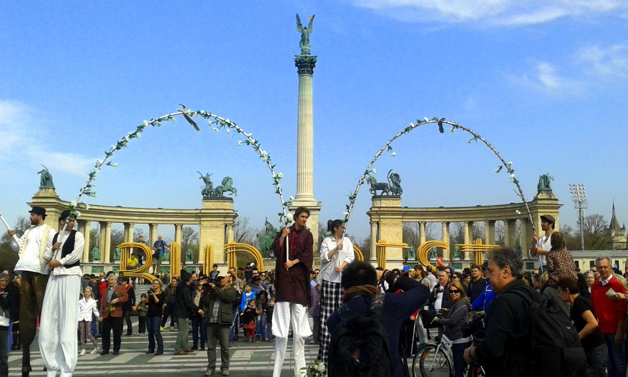 Budapest Spring Festival Opening Promenad, 1 April