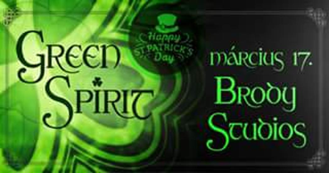 Green Spirit Concert - St. Patrick's Day - Brody Club, 17 March