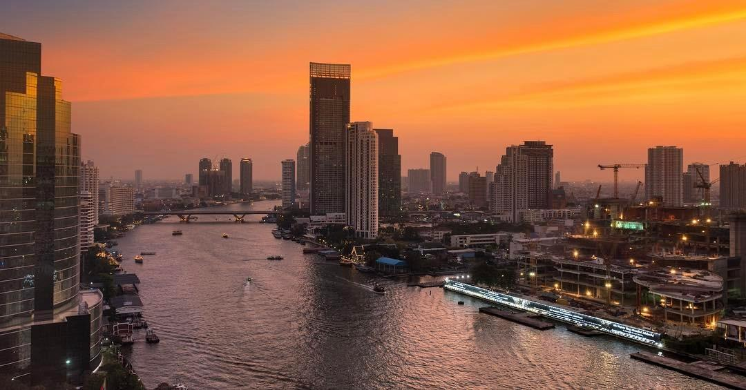 Escape From Budapest To Royal Orchid Sheraton Hotel & Towers Bangkok