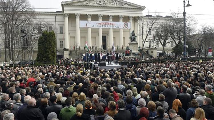 March 15 - Prime Minister Orbán: Brussels Must Be Halted