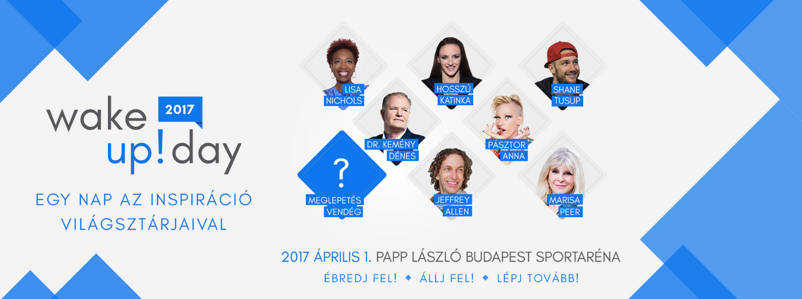 Wake-Up! Day With Lisa Nichols, Katinka Hosszú, Shane Tusup & More, Budapest, 1 April