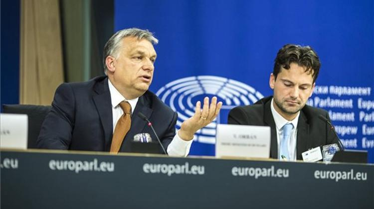 Orbán's Speech At Plenary Session Of The European Parliament