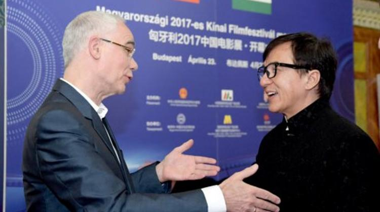 Jackie Chan Opens Chinese Film Festival In Budapest