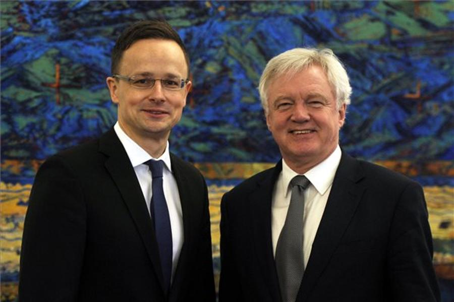 Szijjártó Calls For EU-UK Trade Deal