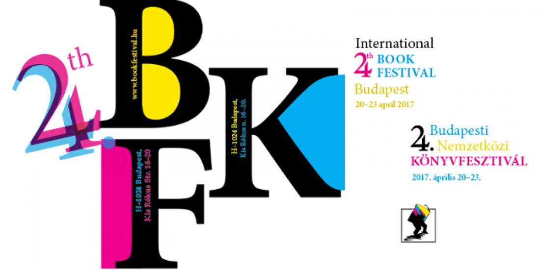 Budapest International Book Festival, 20 - 23 April