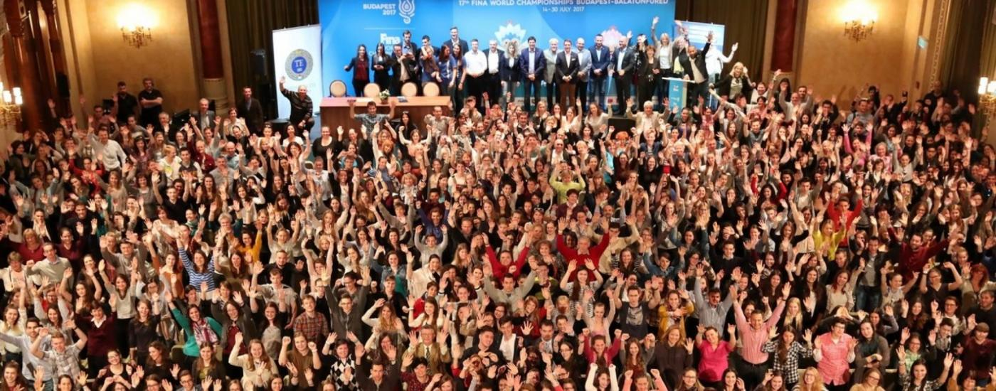 3500 Volunteers Will Assist 17th FINA World Championships