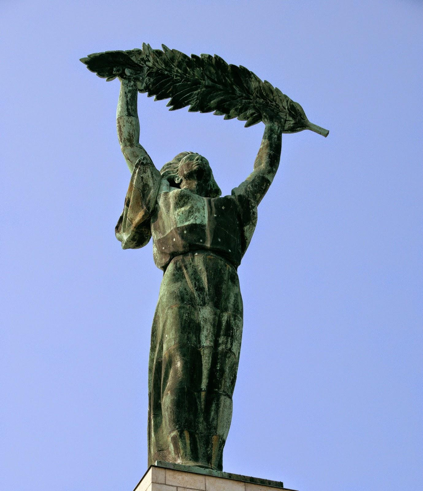Fungarian: The Woman With The Palm Leaf In Budapest