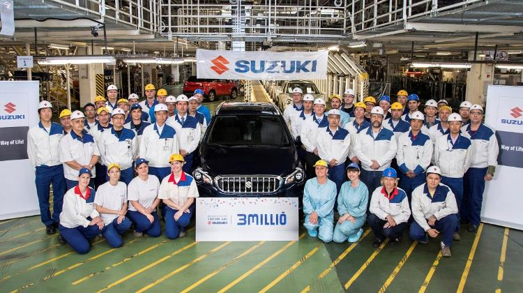 Suzuki Hungary Turns Out 3 Million Cars In 26 Years