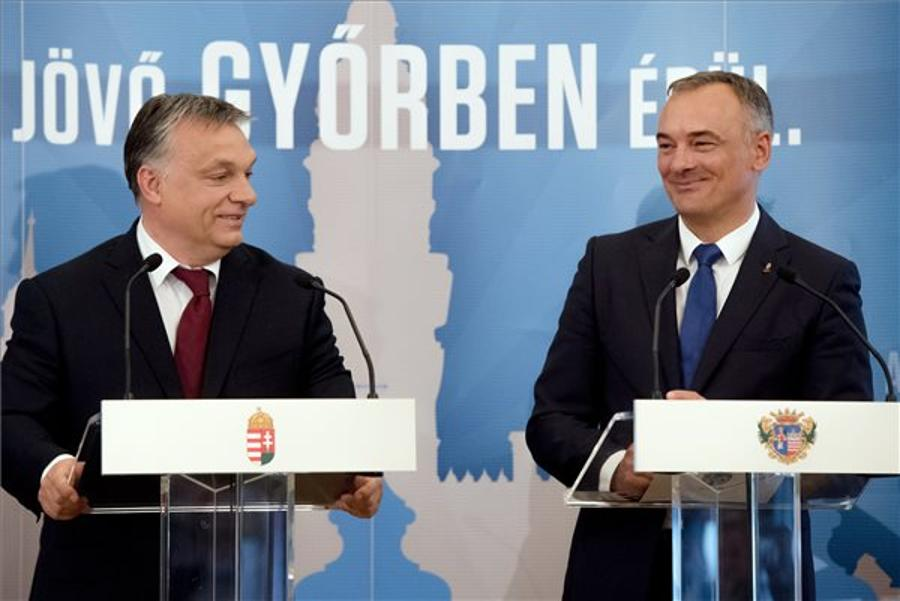 Orbán Announces Projects For Győr