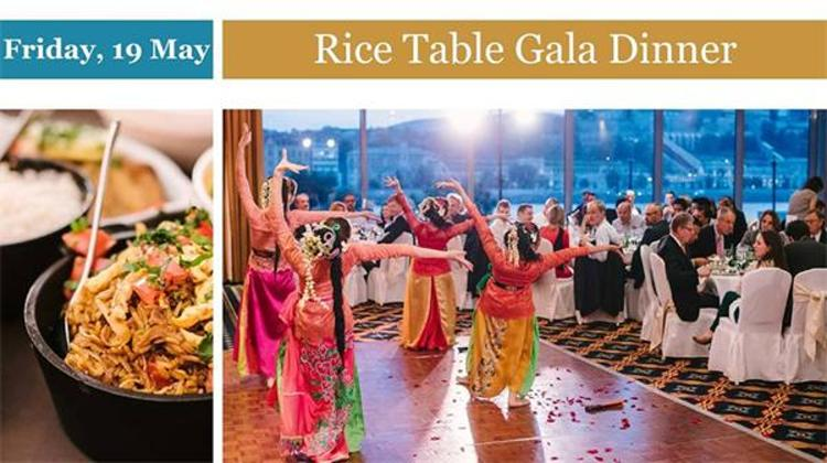 Rice Table Gala Dinner, Marriott Hotel, 19 May