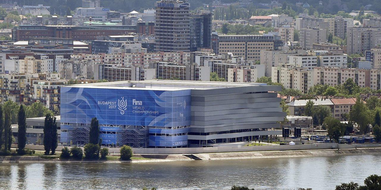 New Danube Arena Hosting European Water Polo Stars