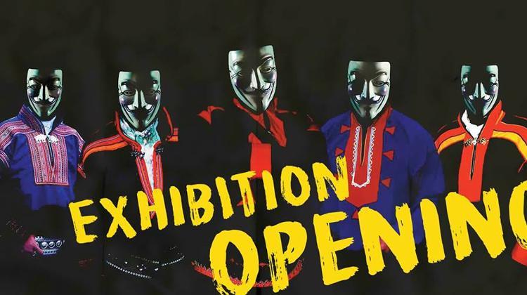 Invitation Suohpanterror Poster Art Exhibition A38 Exhibition