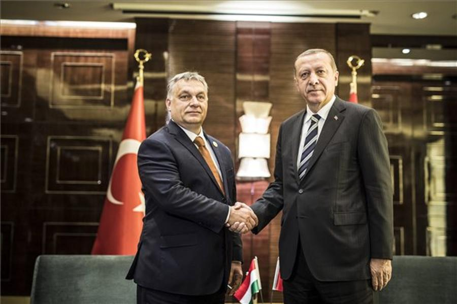 PM Orbán & President Erdogan Discuss Bilateral Relations In Beijing