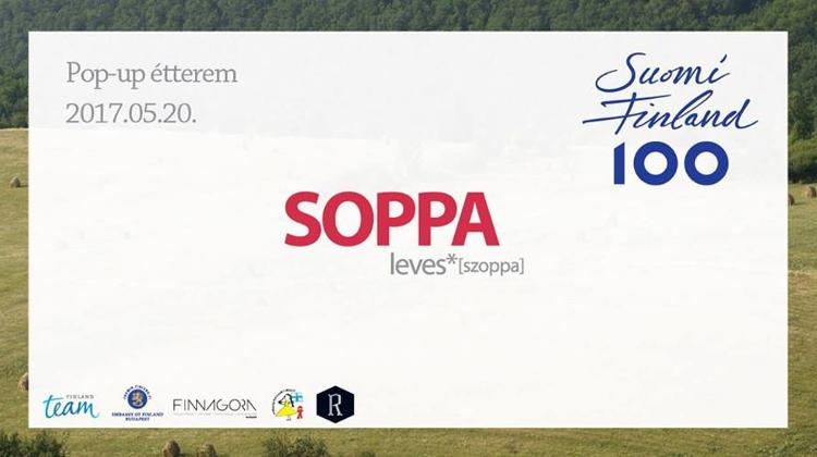 Soppa: Pop-Up Kitchen @ Embassy of Finland, 20 May