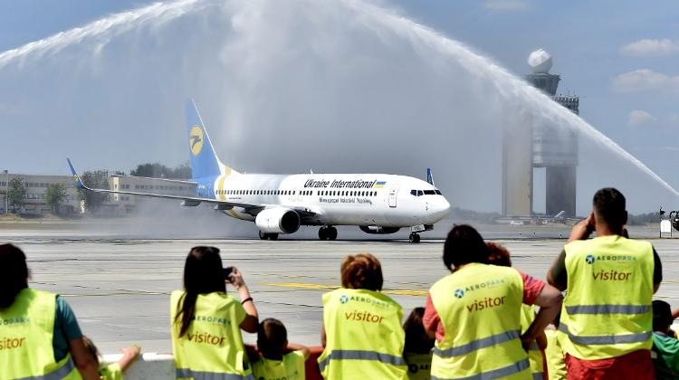 Ukrainian Airlines Launches Daily Flights Between Budapest & Kiev