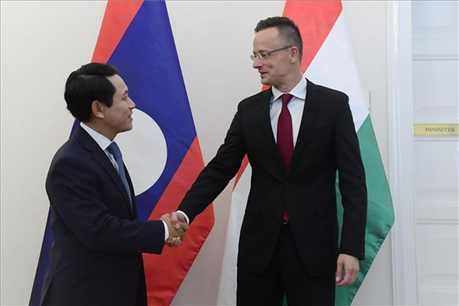 Laos Foreign Minister Held Talks In Hungary