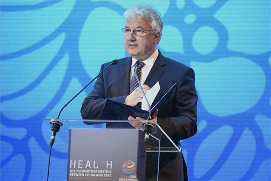 Hungarian Deputy PM Opened Chinese Health Conference In Budapest