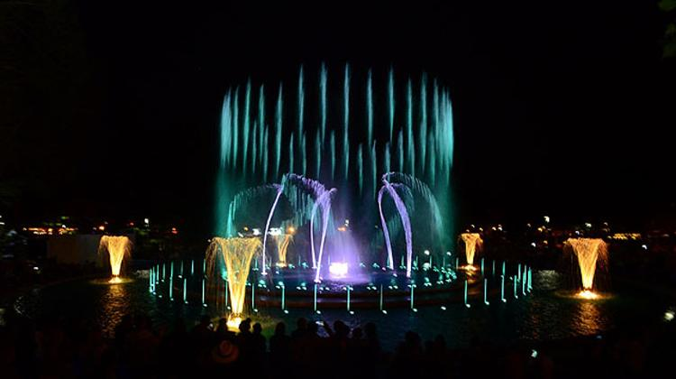 Video: Musical Fountain On Margaret Island, Until 31 October