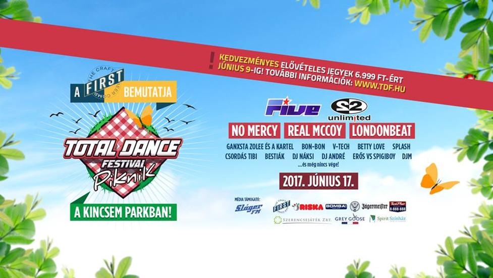 Total Dance Festival, Kincsem Park, 17 June