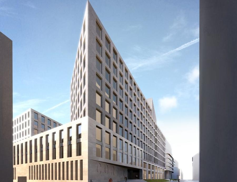 Construction Of Corvin 5 Office Building Started In Budapest