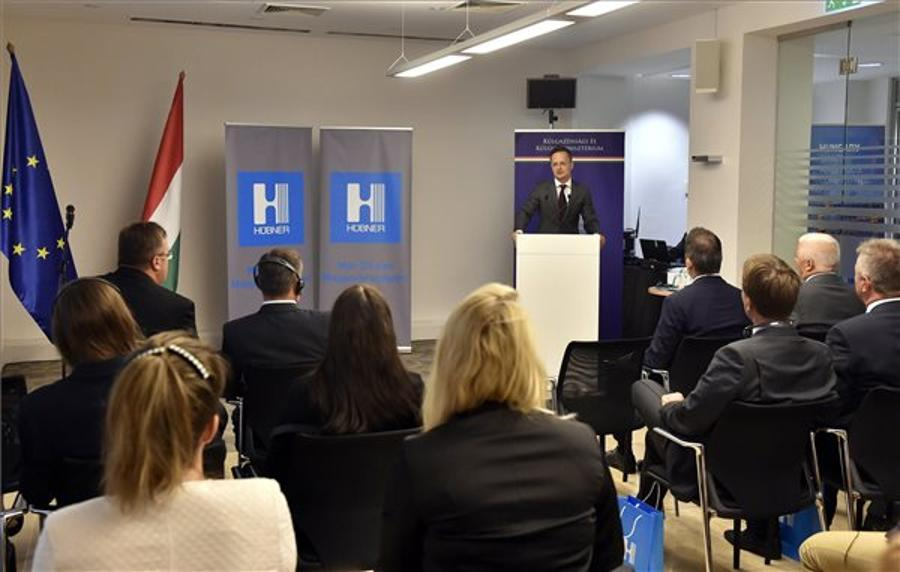 Hübner To Invest 11.1 Million Euros In Expanding Hungary Base