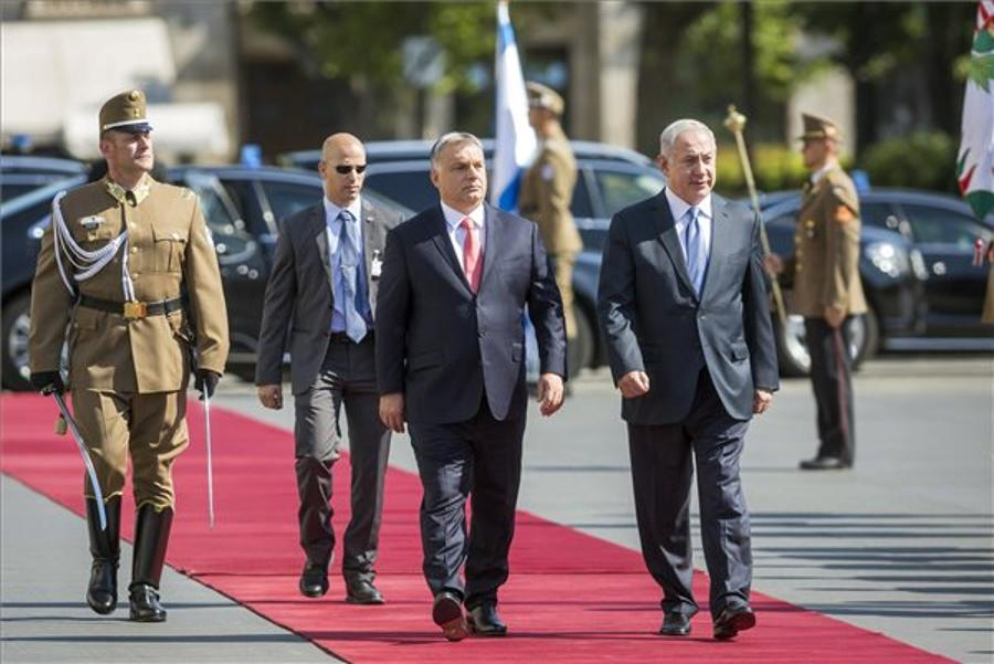 Video & Photos: Orbán Meets Israel's Netanyahu In Budapest