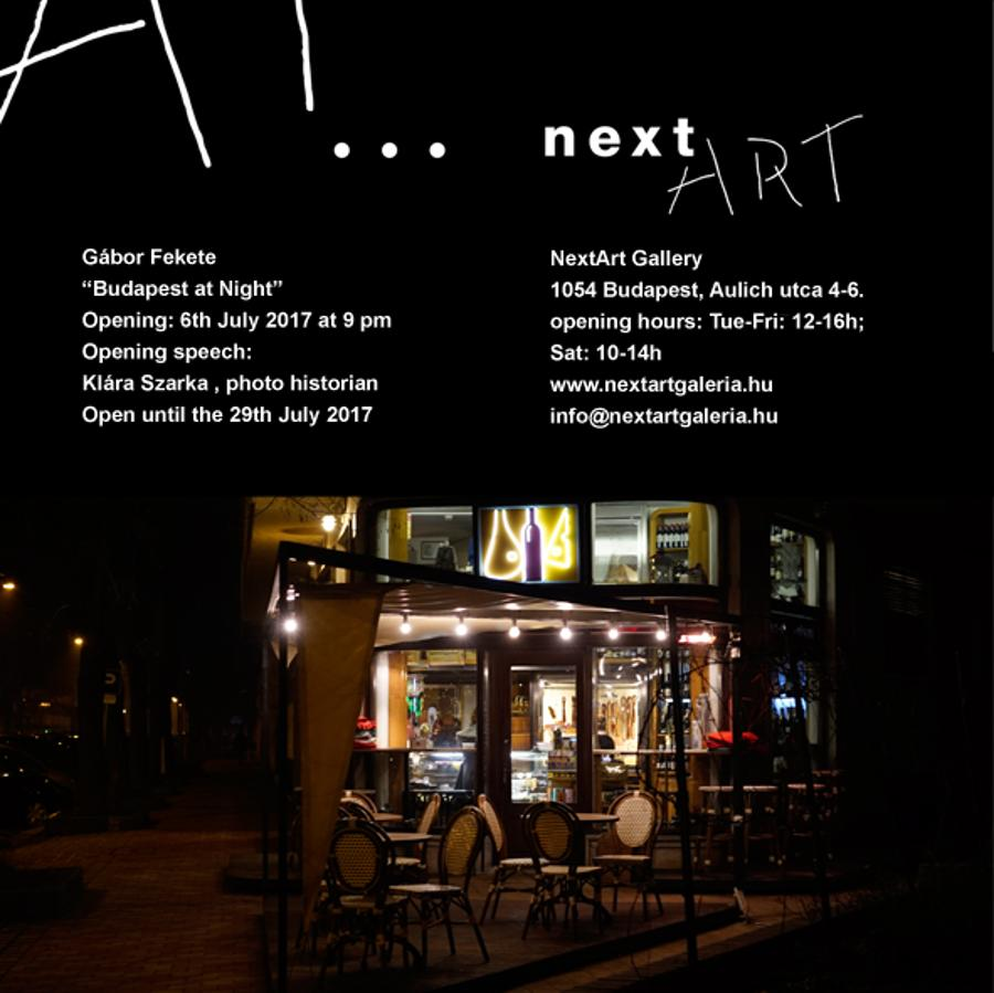 Budapest At Night Exhibition, NextArt Gallery