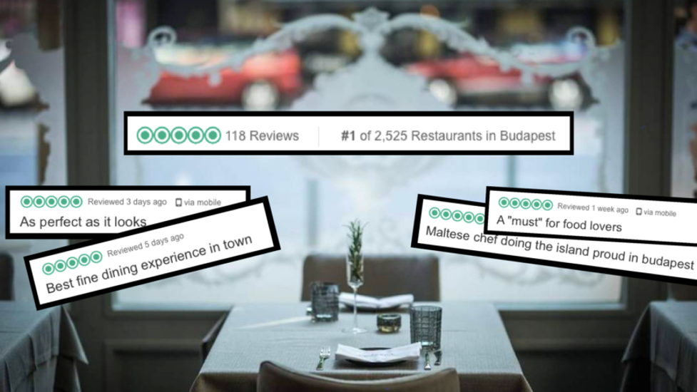 Maltese Restaurant's New Budapest Branch Shoots To Number 1 On Trip Advisor