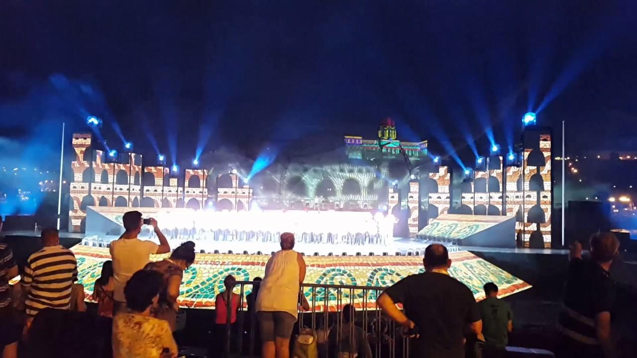 Aquatics Championships Opening Ceremony, 14 July