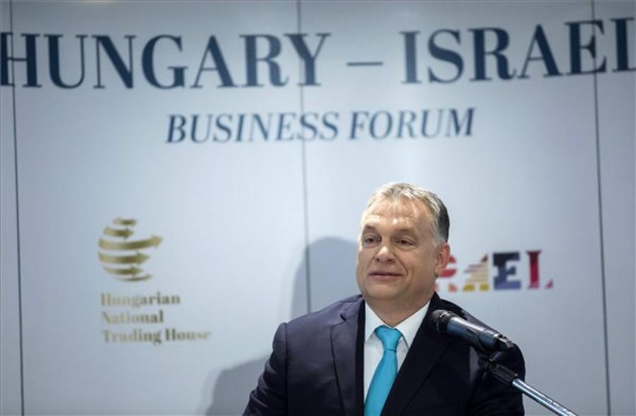 Video: Orbán, Netanyahu Address Hungarian-Israeli Business Forum