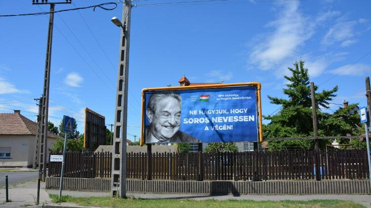Soros Billboards To Be Removed For FINA Championships