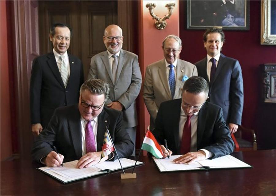 Hungary & US State Of Maryland Signs Interstate Deal To Keep McDaniel College In Budapest
