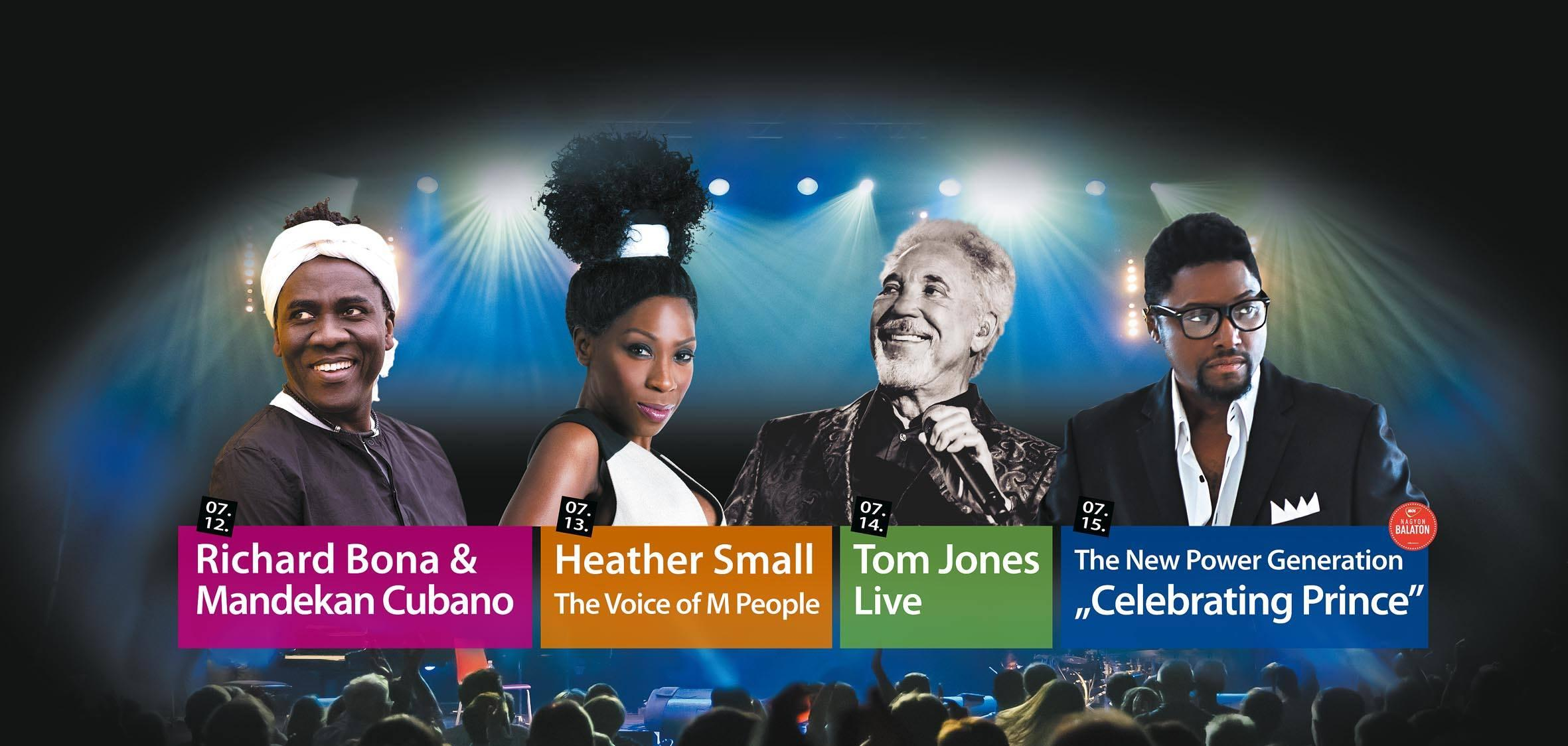 'VeszprémFest', Featuring Tom Jones & The NPG, 12 - 15 July