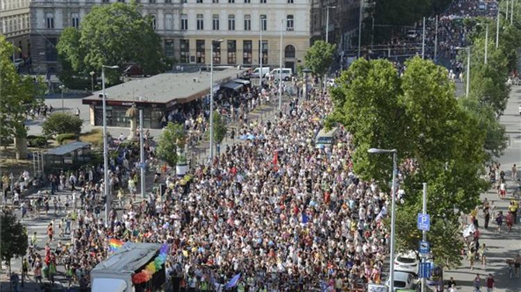 Video: Budapest Pride 'Gay March' Held Without Incidents