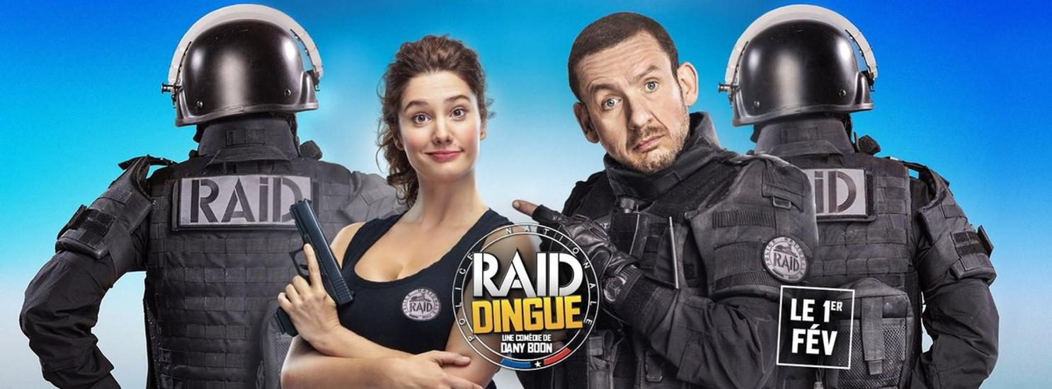 Budapest Rooftop Cinema Presents: 'Raid Dingue', 12 August