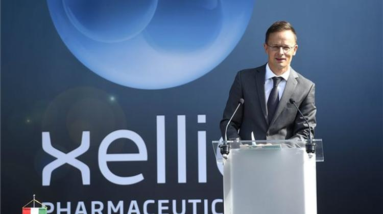 Xellia Pharmaceuticals Inaugurates 13 Million Dollars Expansion In Budapest