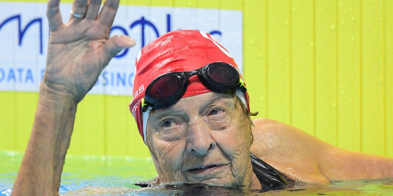 Amazing World Record By A 96-Year-Old Woman At FINA Masters World Championships In Budapest