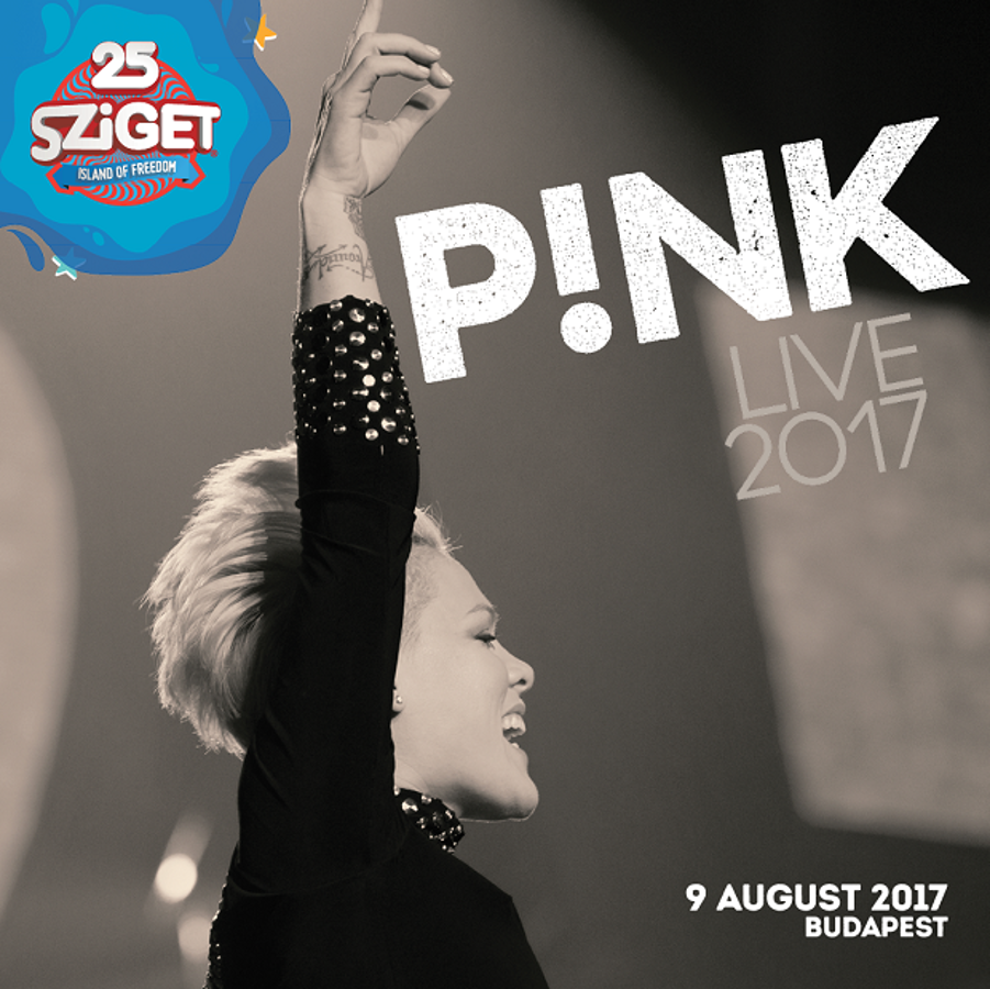 Pink Headlining Sziget 2017 Held Between 9-16 August