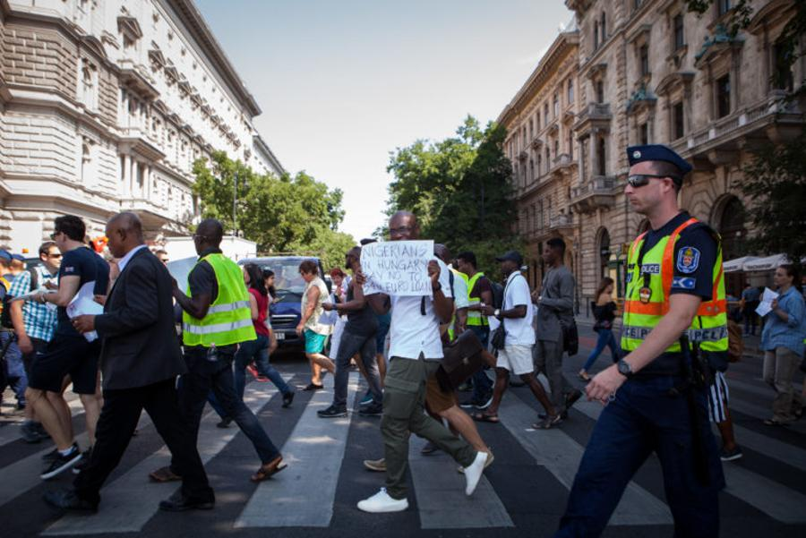 Nigerian Expats Protest Against 'Unacceptable' Hungarian Loan To Nigeria