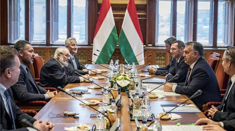 PM Orbán Meets ETUC Head