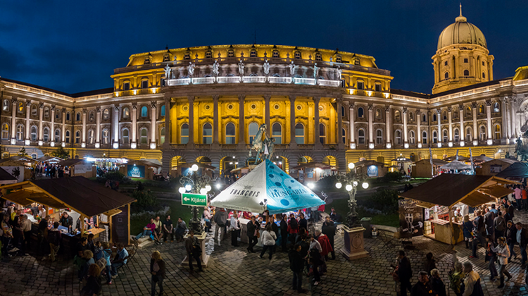 International Wine Festival In Buda Castle, 7 - 10 September