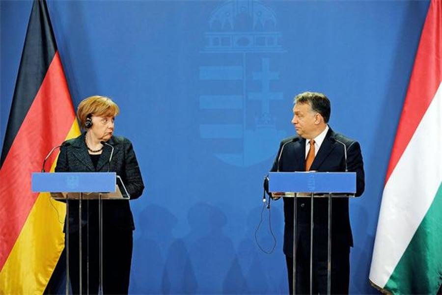 Merkel: Hungary's Stance On Quota Threatens Rule Of Law