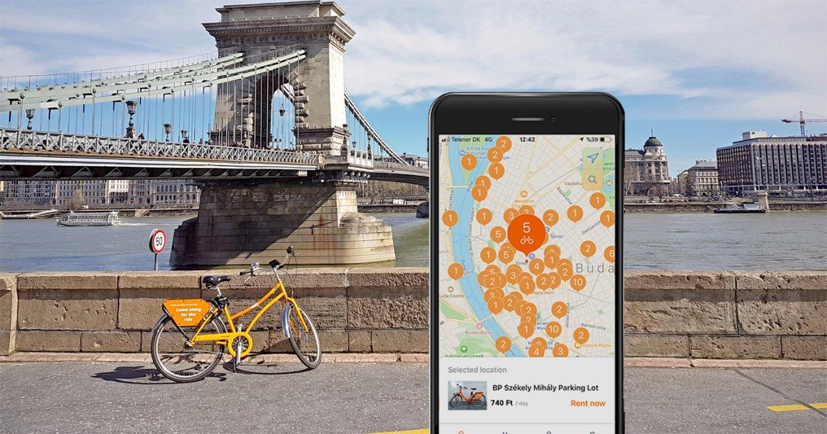 Donkey Republic: Smartphone Bike Rental Comes To Budapest