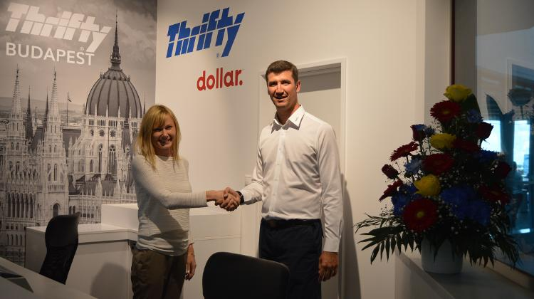 New Hungarian Thrifty Office Opened In Budapest