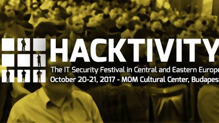 Hacktivity Conference, MOM Cultural Centre Budapest, 20 October