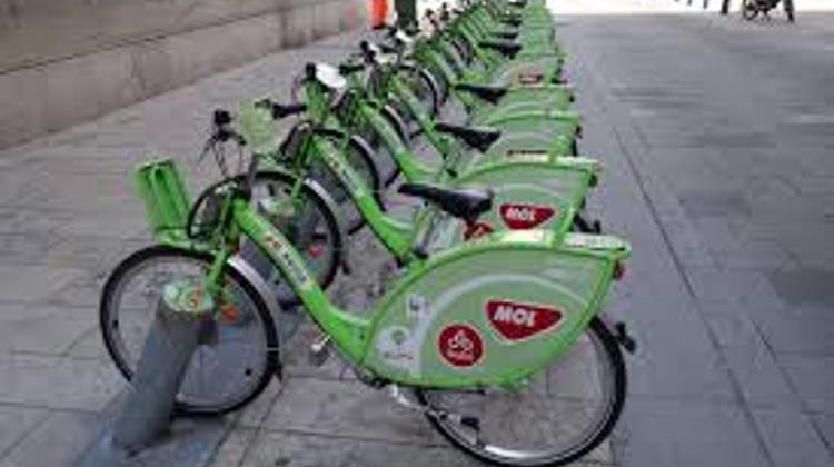 Budapest Bike-Sharing System Used 645,000 Times Last Year